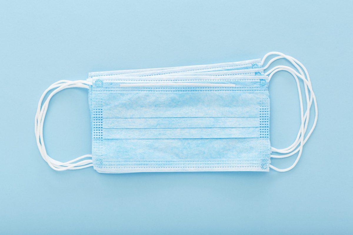 3-lagige Einwegmundnasenschutzmasken